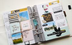 Je viens également vous montrer le début de mon Memory planner février. La page du début, juste un petit aperçu car il y a des choses secrètes^^ Ensui