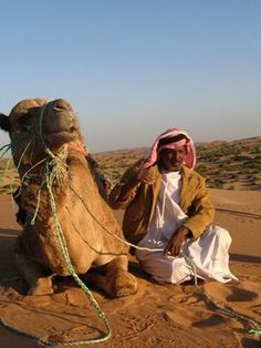 Bedouin man with camel. The Sinai Desert, Egypt. www.dahabvillas.com