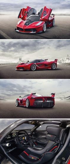 New Ferrari FXX K Boast 1035 HP At Finali Mondiali