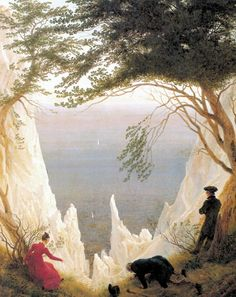 I saw a show of his in Amsterdam and loved it. Just stumbled on this image. Somewhere I have a poster with this picture on it, I wonder if I still have it! Caspar David Friedrich