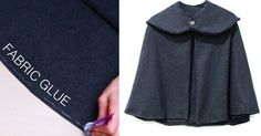 This Simple-Stitch Cape Will Keep You So Freaking Warm