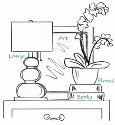 In case you were wondering how interior designers' tables are styled so well. There IS a formula!