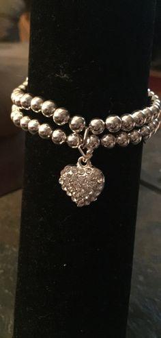 Valentine's Heart Stretch Bracelet