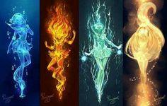 Imagen de sailor moon, elements, and sailor mars