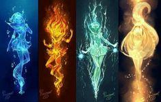 Imagen de sailor moon, elements, and sailor mars