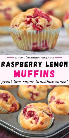 These Lemon Raspberry Muffins are the perfect afternoon tea sweet treat or sweet lunchbox snack. These homemade muffins from scratch are super light, fluffy and more importantly super easy to make! Lemon Raspberry Muffins, Lemon Muffins, Blue Berry Muffins, Carrot Muffins, Cranberry Muffins, Bran Muffins, Egg Muffins, Best Raspberry Muffin Recipe, Mini Muffins