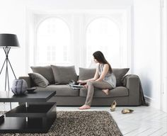 BoConcept Cenova sofa with cushions