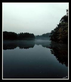 by ♡Gosia M more: http://xgosia-mx.tumblr.com   &   https://www.facebook.com/gosiamphoto  #lake #gosiam #forest #wood #fog