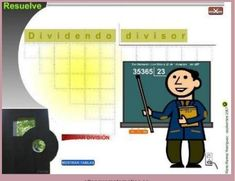 ¡Práctica la división! Family Guy, Guys, Fictional Characters, Maths Area, Teaching Resources, Art Kids, Toy Block, Sons, Fantasy Characters