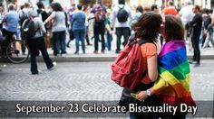 September 23 Celebrate Bisexuality Day