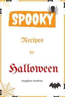 Egg Free and Nut Free Halloween ideas to try at home, chocolates and cupcakes.