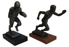 Antique Sports Trophies, Pair
