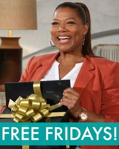 Enter to win this week's Free Friday giveaway! You could win EVERYTHING The Queen Latifah Show audiences went home with this week, plus a few extras!