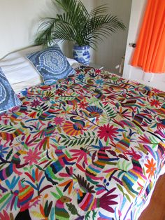 Traditional Mexican Bedspread