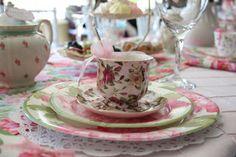 Rent A Tea Party: Baby Shower Tea Party