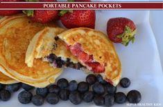 Portable Pancake Pockets   Healthy Ideas for Kids