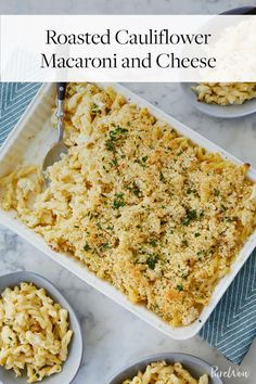 Roasted Cauliflower Macaroni and Cheese via @PureWow