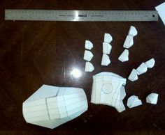 right hand assembled #IronMan #costume #DIY