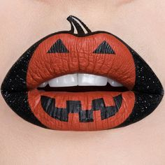 You don't even need to wear a costume with these Halloween lip art looks. It will make you wish that you could rock Halloween lip art the other 30 days of October. Lip Art, Lipstick Art, Liquid Lipstick, Lipsticks, Makeup Art, Lip Makeup, Maquillage Halloween Vampire, Art Halloween, Halloween Costumes