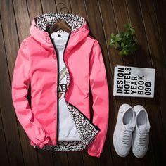 >> Click to Buy << Women Spring Thin Luxury hooded Jacket Unisex Collage Jackets 2017 Fashion Hoodie Windbreaker Women Baseball Coat 051906 #Affiliate
