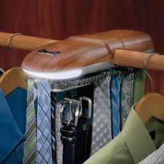 Brookstone Automatic Tie Rack