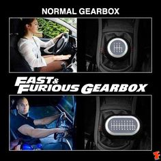 Fast and Furious gear box...