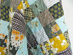 Baby Quilt  Crib Quilt  Heather Ross Fabric by PlatoSquirrel, $140.00