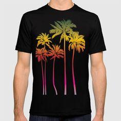 Magical palms trees T-shirt by vladimirceresnak Keep Shopping, Palm Trees, Cool Designs, Africa, Mens Tops, T Shirt, Palm Plants, Supreme T Shirt, Tee Shirt