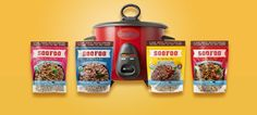 SooFoo® is available in four great flavors: Original, Curry, Moroccan, and Garlic & Herb.