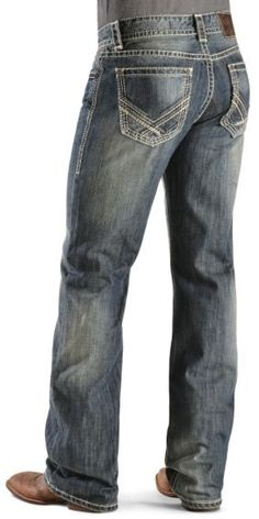 Rock & Roll Cowboy Back Pocket Double Barrel Jeans - Sheplers