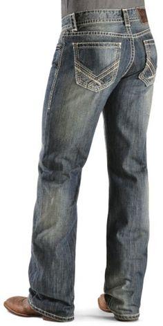 Rock & Roll Cowboy Back Pocket Double Barrel Jeans - Sheplers