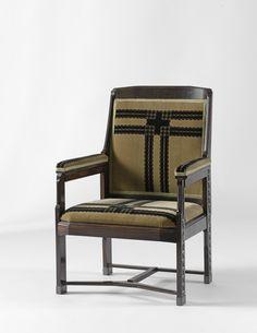 Armchair by Hendrik Petrus Berlage, 1920. Rijksmuseum, Public Domain