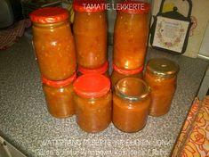 BOTTEL EN BERE Home Canning Recipes, Cooking Recipes, Hot Sauce Bottles, Chutney, Preserves, Pickles, Veggies, Favorite Recipes, Kos