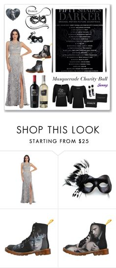 """""""50 Shades Darker"""" by smile2528 ❤ liked on Polyvore featuring Masquerade"""