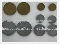 Coins, Arts And Crafts, Personalized Items, Coining, Rooms, Art And Craft, Crafts, Art Crafts