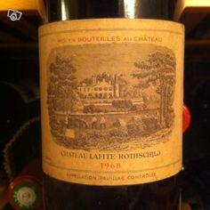 Chateau Lafite Rothschild 1968 | Chateau Lafite rothschild 1968 | | Vieille-bouteille.com - Vendez vos ...