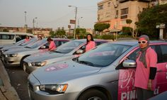Pink Taxi is a response to widespread sexual harassment but critics say it segregates women without addressing the problem