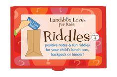 Lunchbox Love for Kids Riddles Volume 4