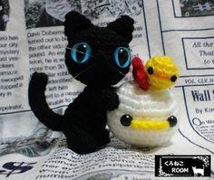 黒猫こけぴよ・茶トラ親子 - あみぐるみ❦くろねこROOM❦カタログ yaplog!(ヤプログ!)byGMO