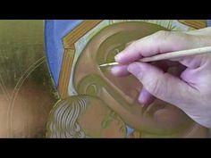 6 - Il volto della Madre di Dio di Vladimir - dare la forma - YouTube