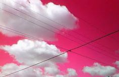 When skies are pink
