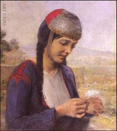 Γιώργος Ιακωβίδης, Κοπέλα με μαργαρίτα