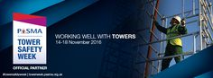 RSC Training Ltd are an Official Partner of PASMA during Tower Week