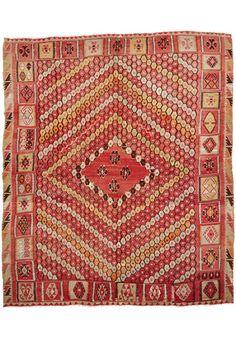 Turkish Kilim 3.37 x 2.80 m I Perryman Carpets