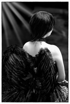 My black wings. They're invisible but they have been there for ages, long before it was a thing.