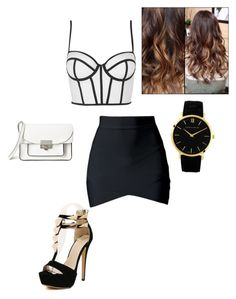 """""""Untitled #372"""" by shellyshway ❤ liked on Polyvore featuring Topshop, Marc by Marc Jacobs and Larsson & Jennings"""