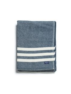 Navy Trapper | Wool Throw