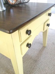 Crafts & DIY = end table makeover {My Love 2 Create} #30