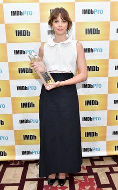 Felicity Jones from 2016 Toronto Film Festival: Star Sightings  The A Monster…