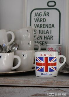 Be British - Drink Tea
